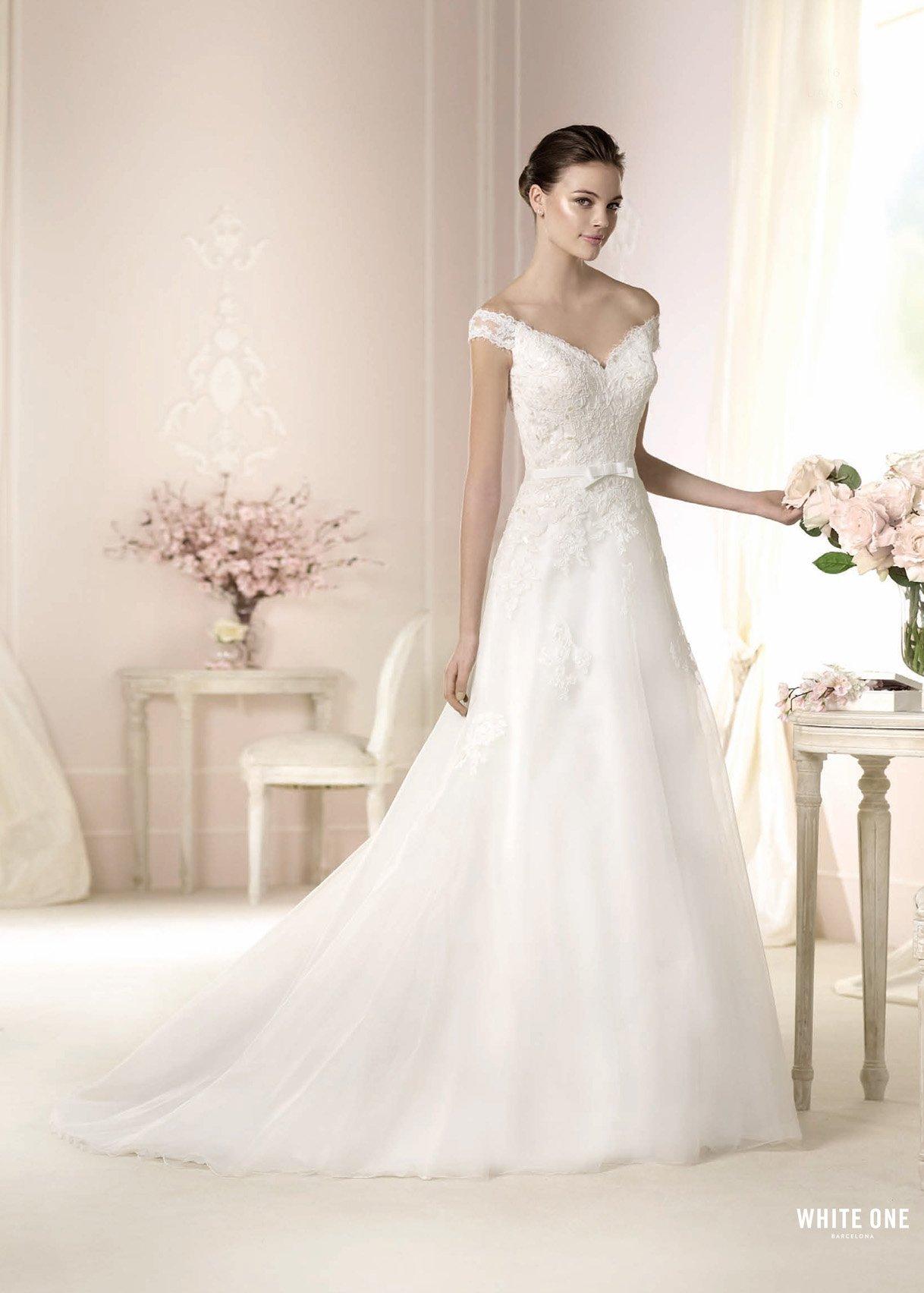 Свадебное платье «Danica» 50% скидка