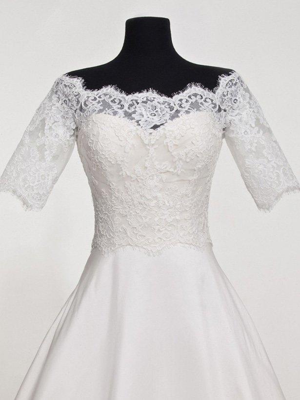 Болеро для невесты №1 | Свадебный салон «Wega»
