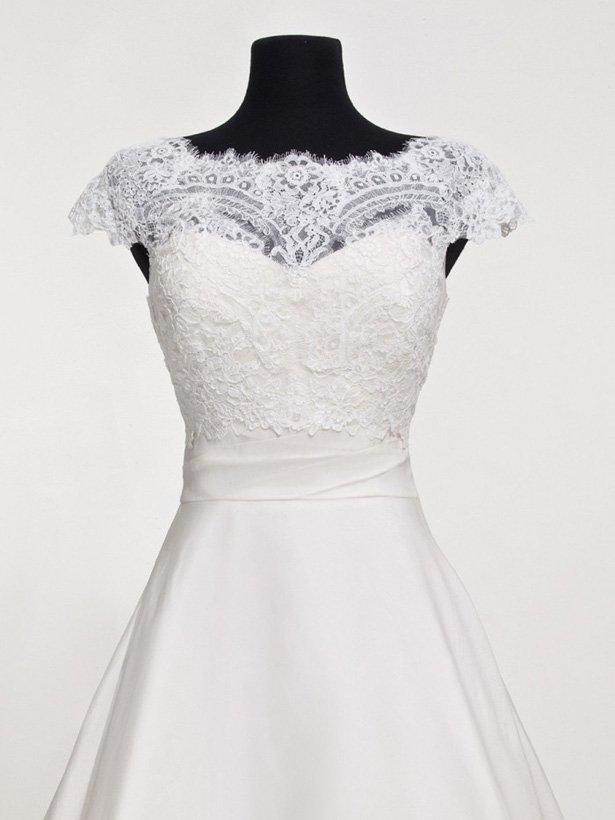 Болеро для невесты №2 | Свадебный салон «Wega»