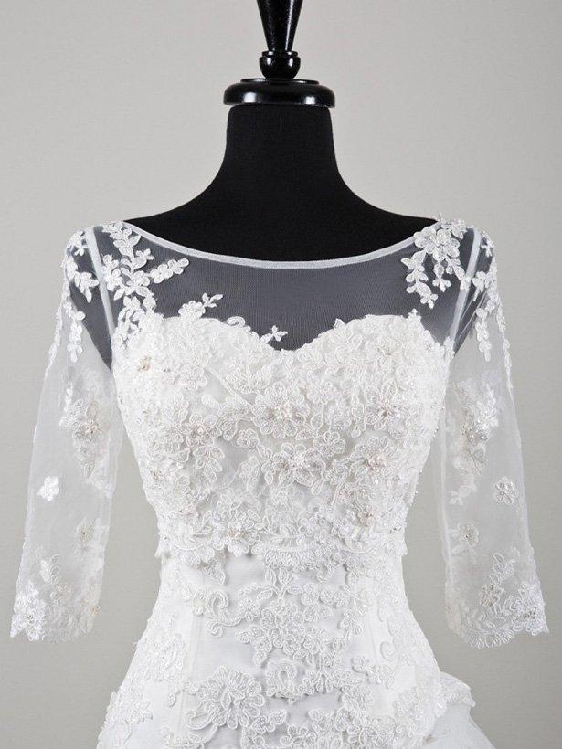 Болеро для невесты №3 | Свадебный салон «Wega»