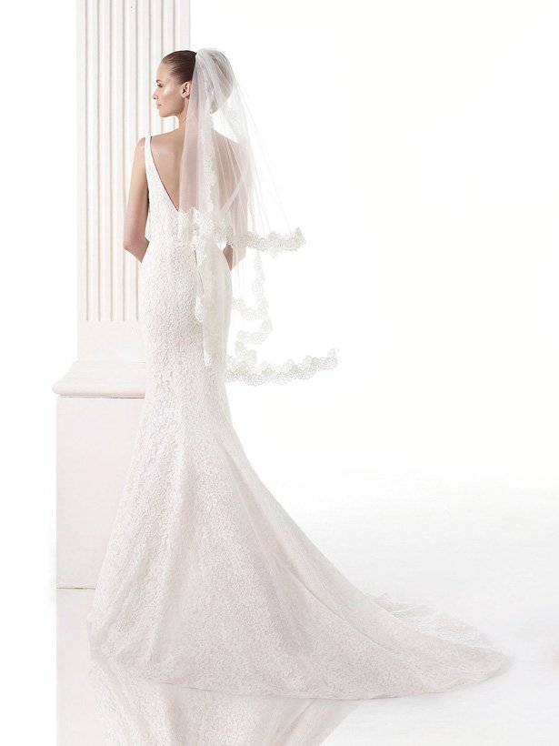 Фата для невесты №4
