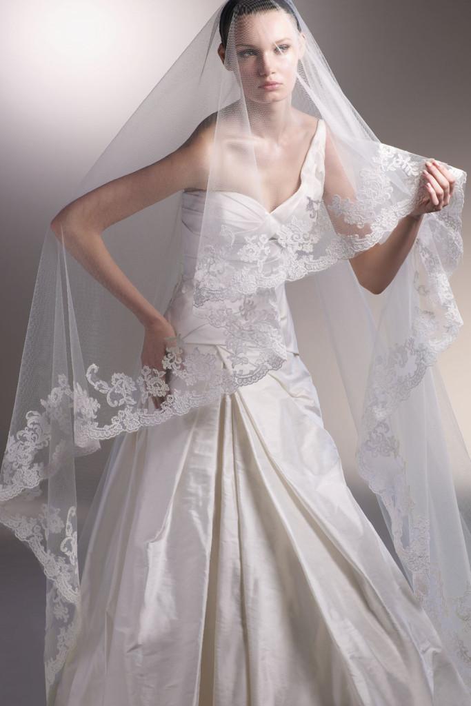 Фата для невесты №6