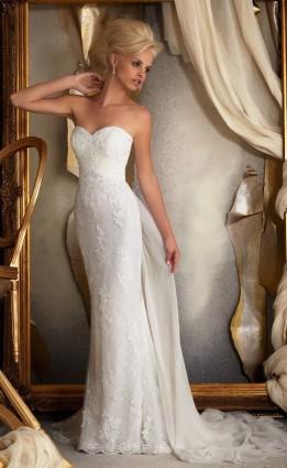 Модель свадебного платья «Mori Lee 1914» | Свадебный салон «Wega»