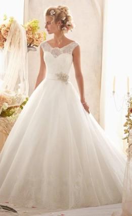 Модель свадебного платья «Mori Lee 2607» | Свадебный салон «Wega»