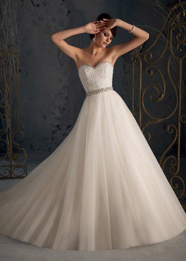 Модель свадебного платья «Mori Lee 5162» | Свадебный салон «Wega»
