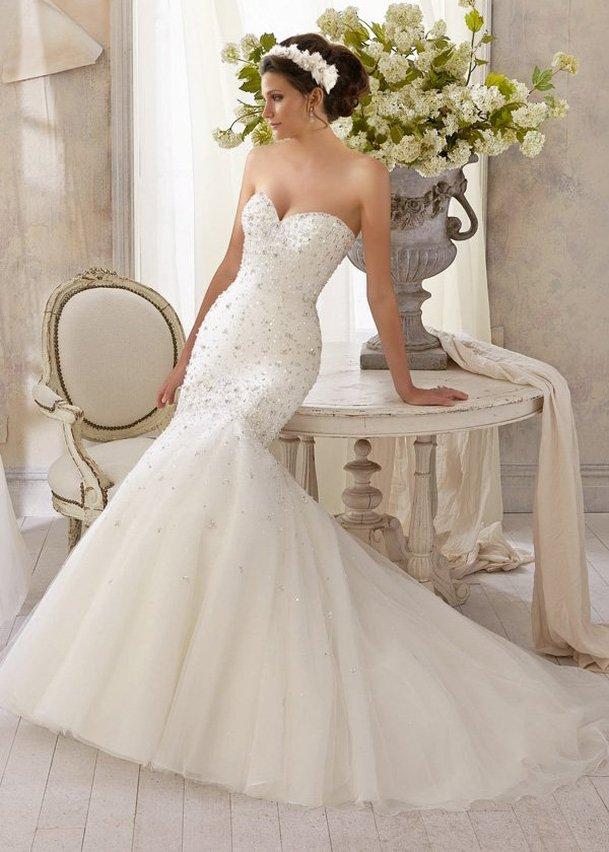 Свадебное платье «Mori Lee 5215»