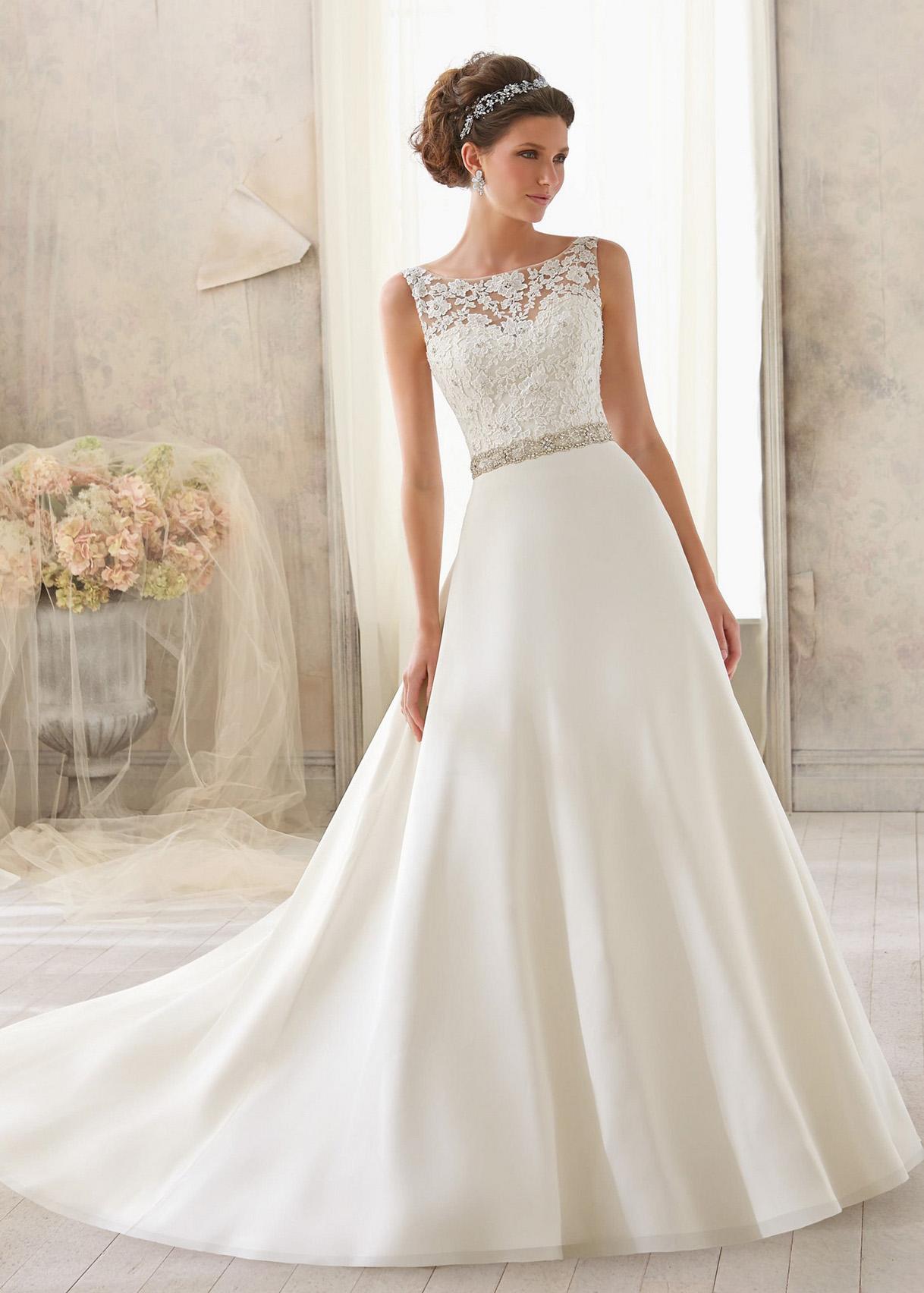 Свадебное платье «Mori lee 5204»