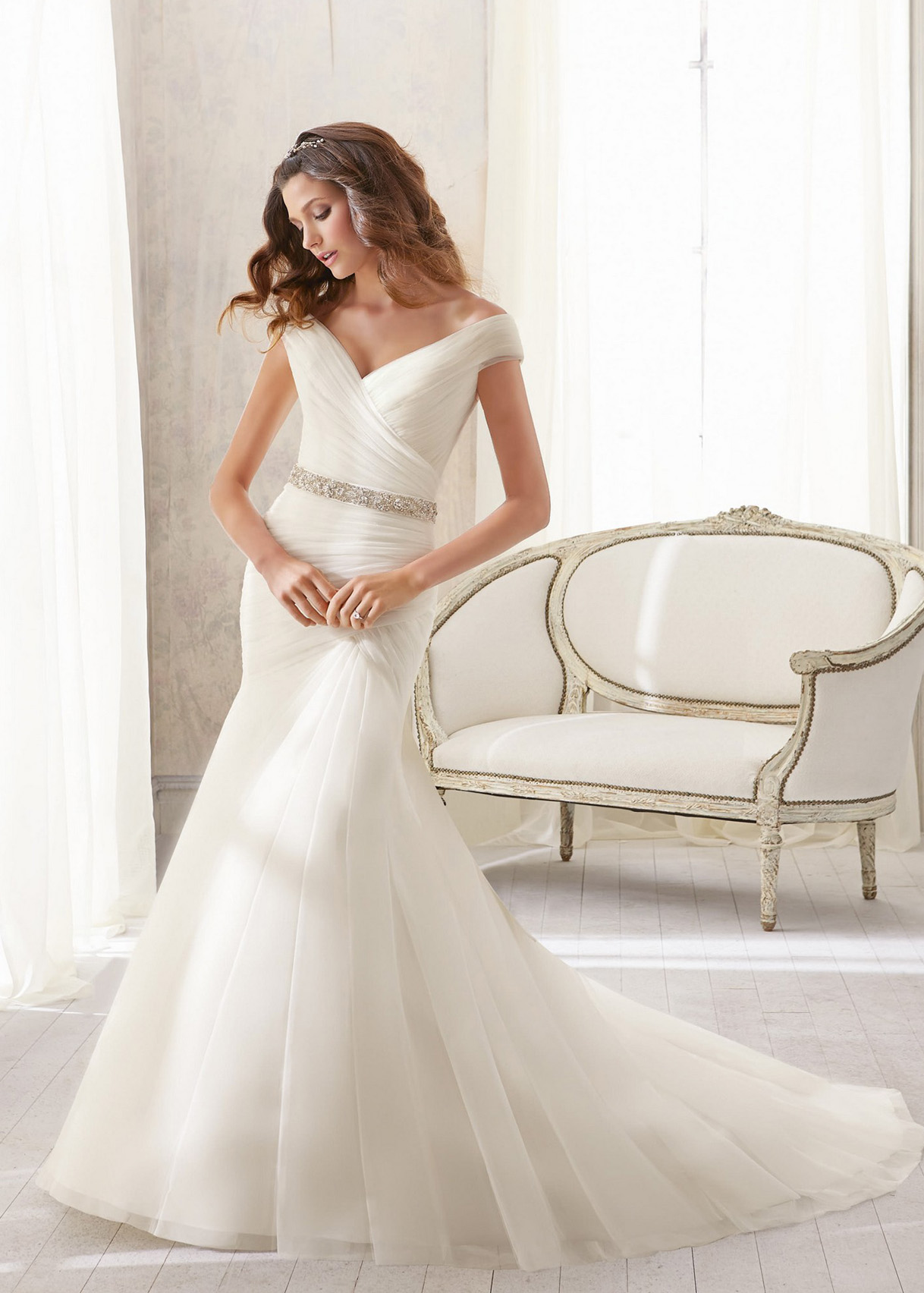 Свадебное платье «Mori lee 5210»