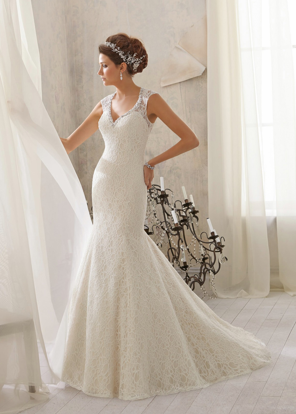 Свадебное платье «Mori lee 5214»