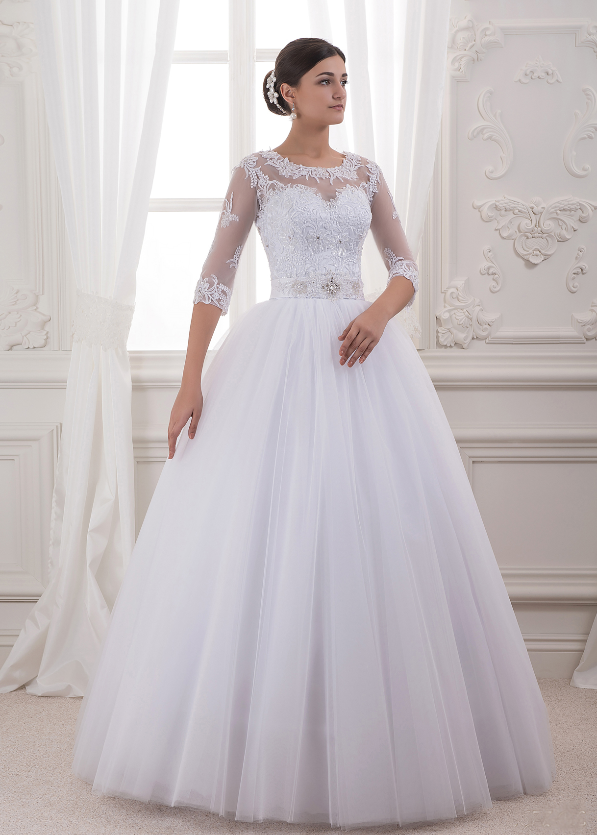 Свадебное платье «Sinty»