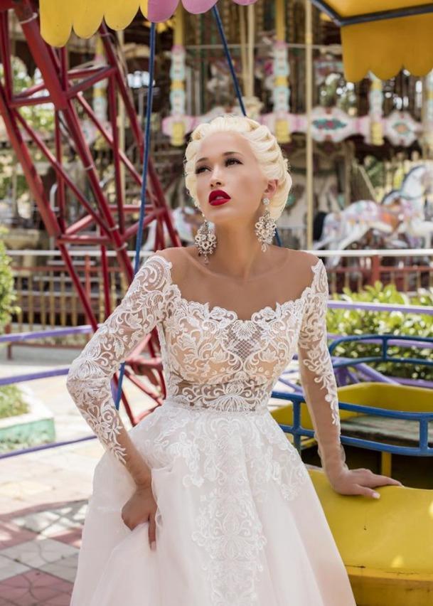 Свадебное платье «Free Camelia»