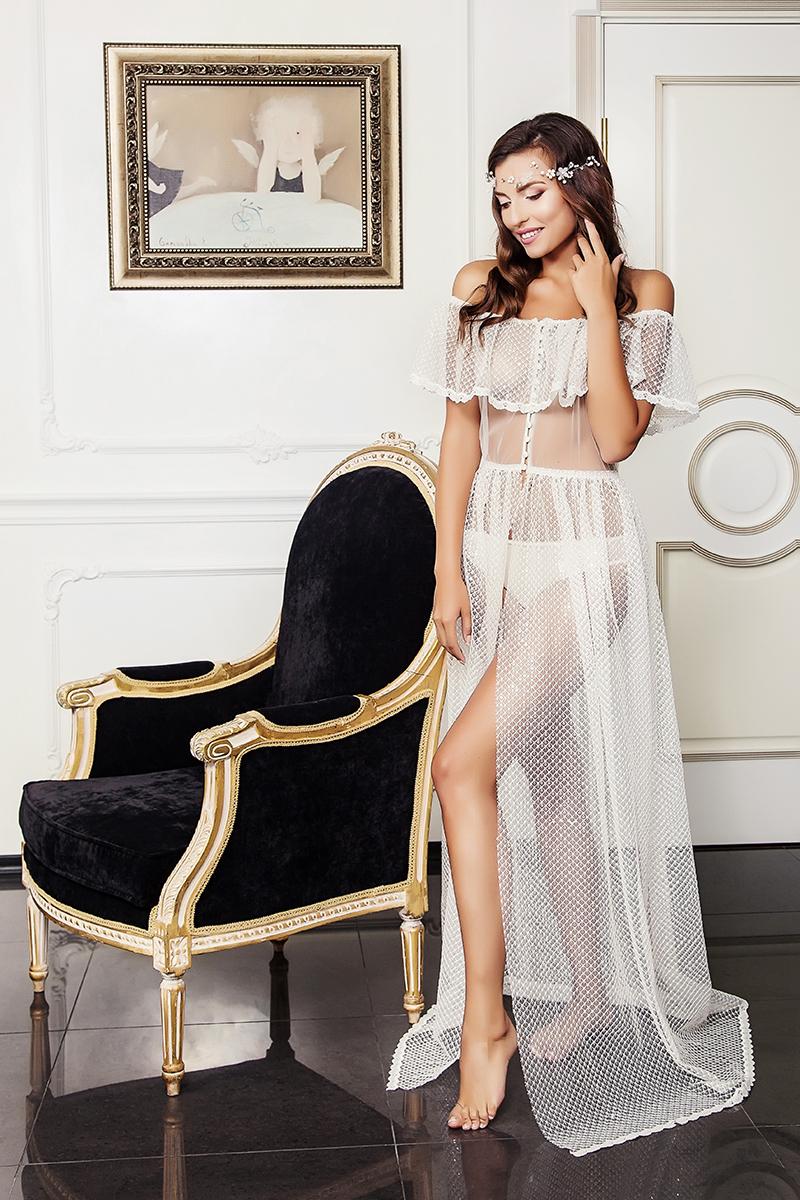 Будуарное платье  Elena