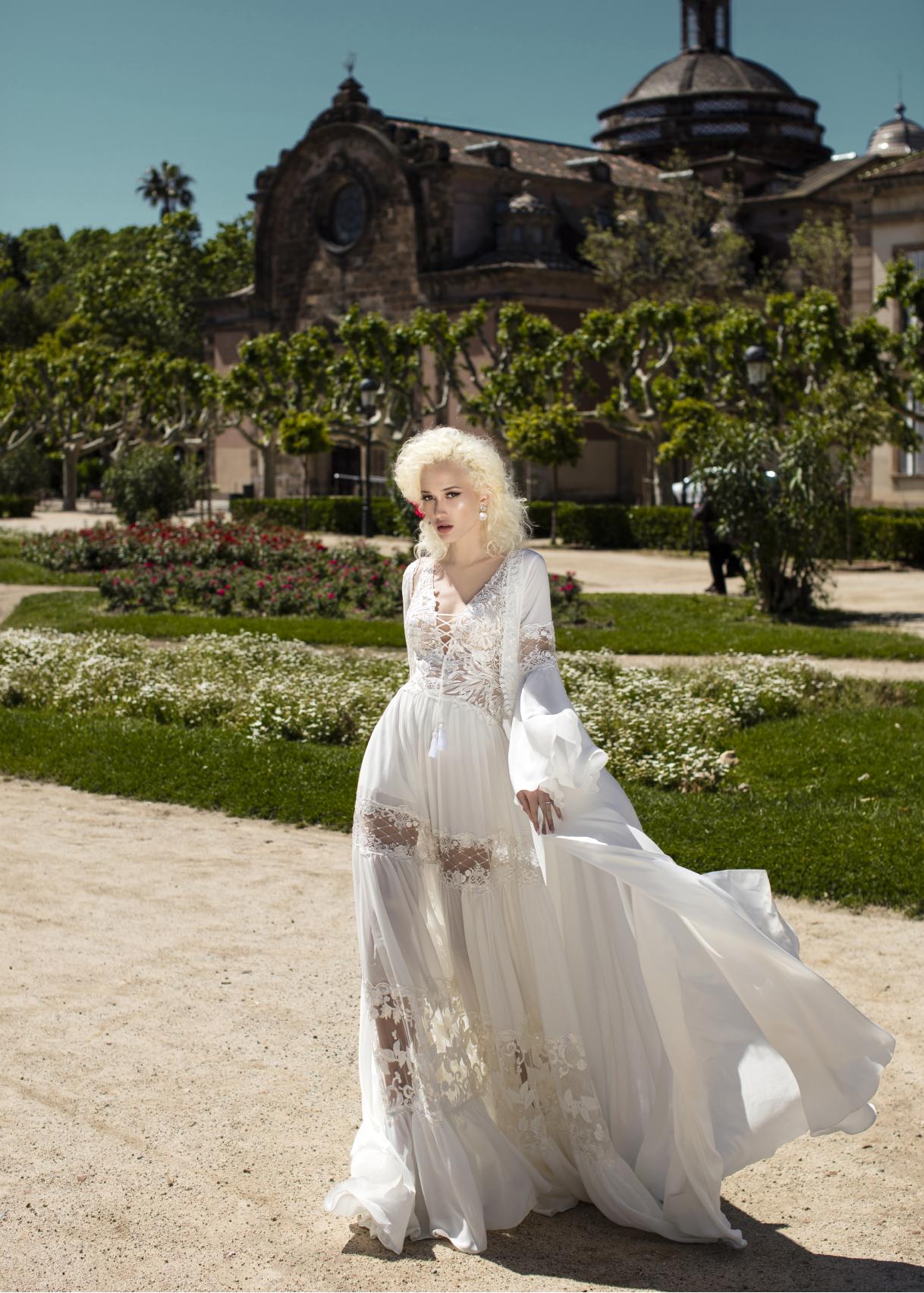 Свадебное платье «Nasturtium»