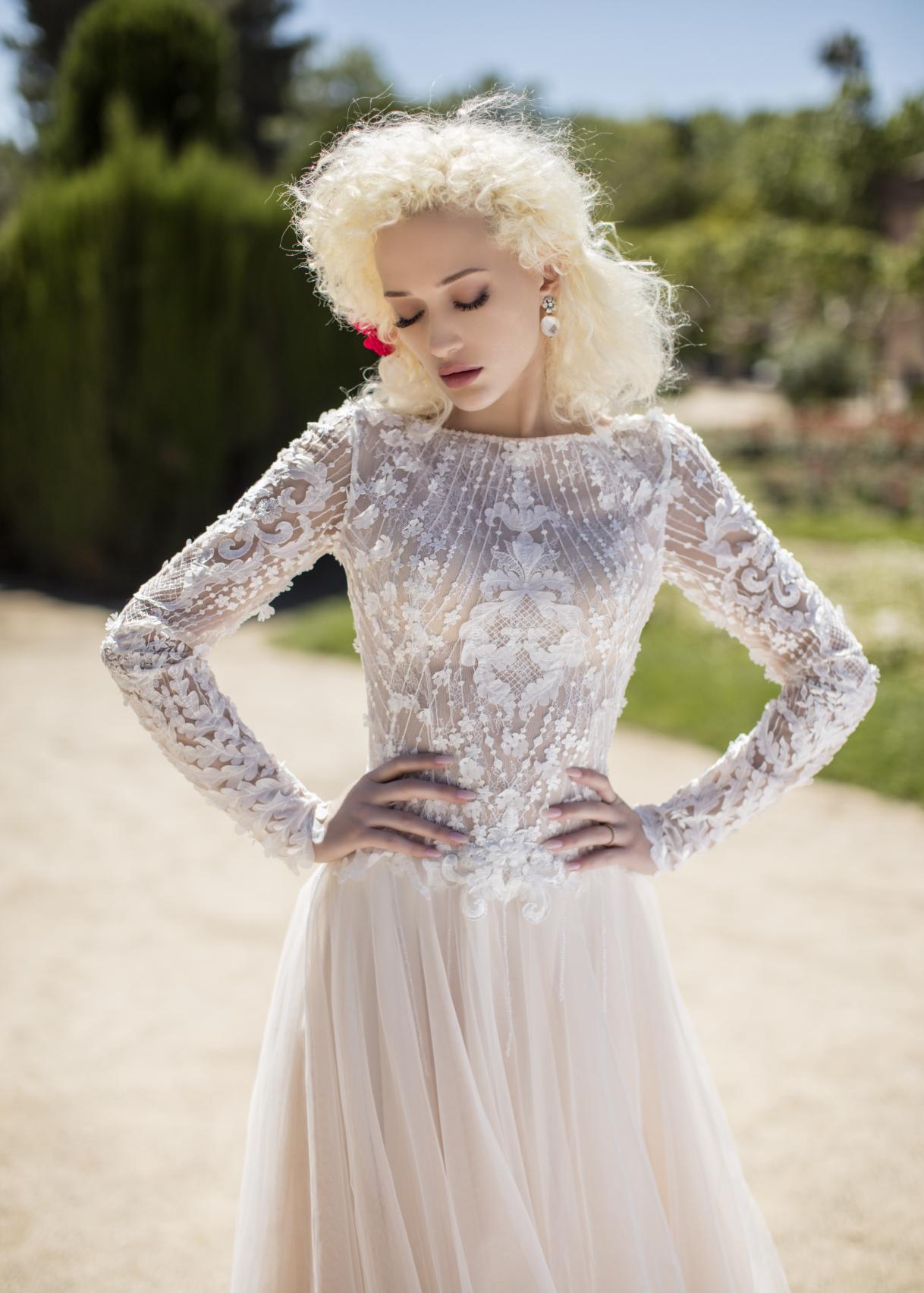 Свадебное платье «Fennel Flower»