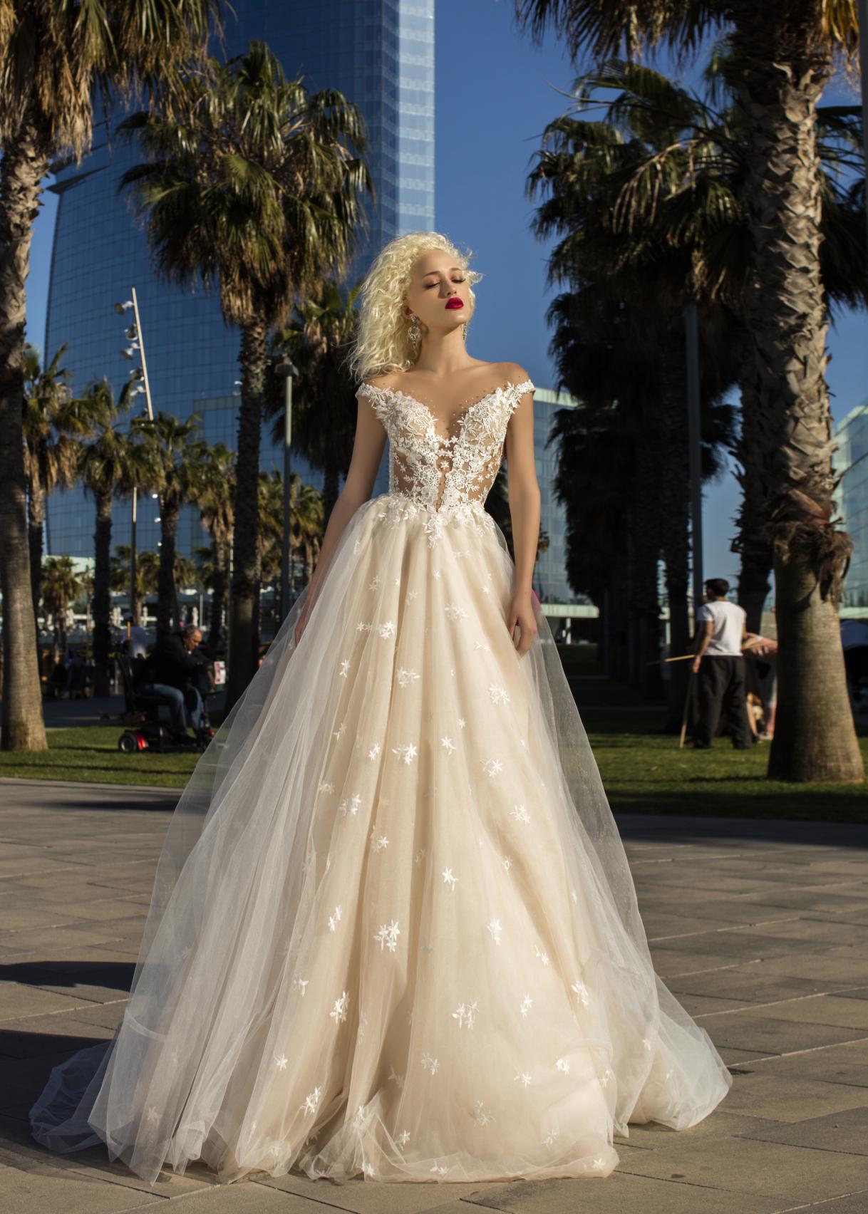 Свадебное платье «Clematis»