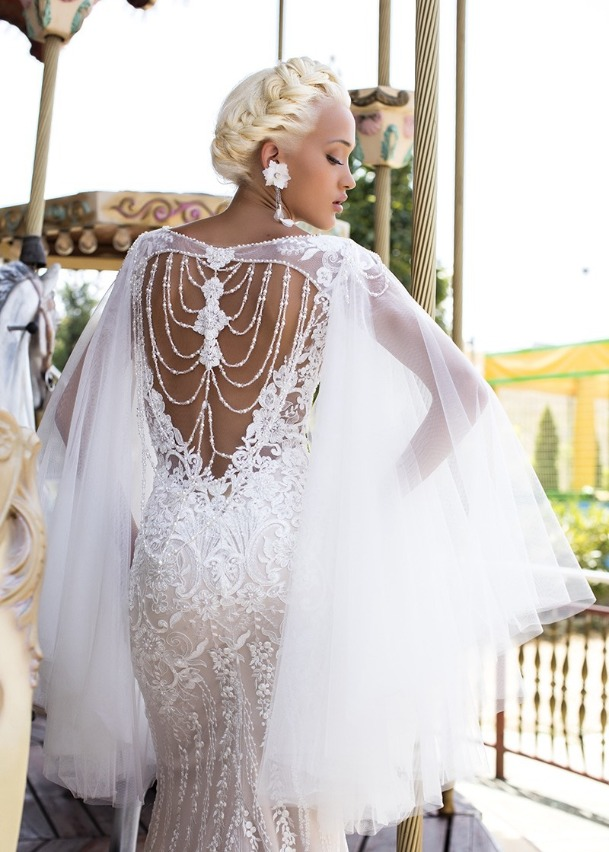 Свадебная накидка Lavender