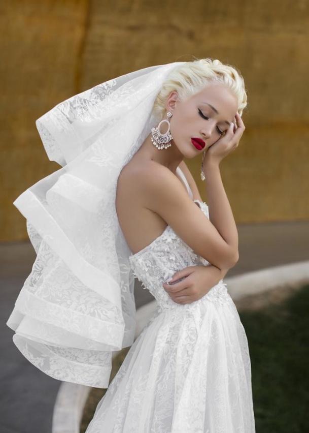 Свадебная фата Hibiscus