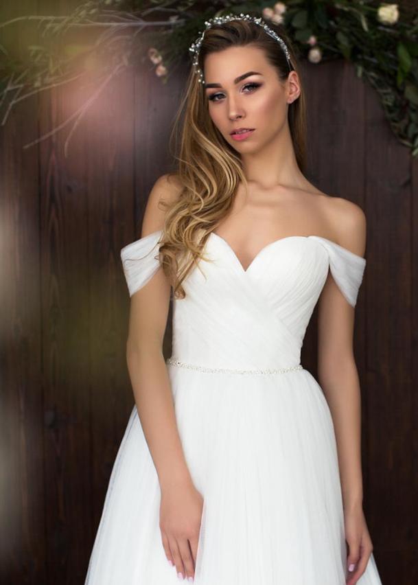 Свадебное платье «Скромный подснежник»